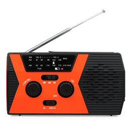 read speaker NZ - Retekess HR12W Hand Crank Solar Radio Emergency Digital Display FM AM NOAA SOS Reading Lamp For Family Camping