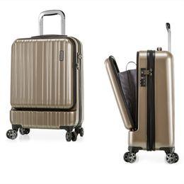 "$enCountryForm.capitalKeyWord NZ - Pure PC business Trolley case,20""Computer Boarding Box,TSA password lock Suitcase,High quality Luggage,Universal wh trunk"