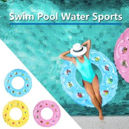 Swimming Pool Rafts Australia - Baby Swimming Ring Inflatable Infant Armpit Floating Kids Swim Pool Accessories Circle Bathing Inflatable Raft Rings Toy