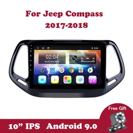 compass for android Canada - Android 9.0 Auto Multimedia Video Player DVD GPS Navigation For Jeep Compass 2017 2018 Wifi DVB SWC DAB Steering Wheel Control