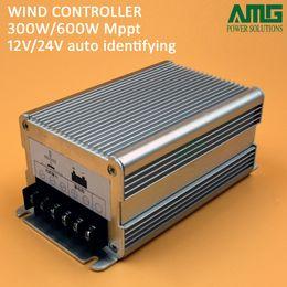 MPPT / Boost 12V / 24V de conmutación automática 100W-600W 25A generador de viento carga de tensión controlador de auto-adaptable en venta