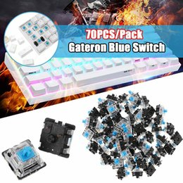 $enCountryForm.capitalKeyWord Australia - 70PCS Pack 3Pin Gateron Clicky Blue Switch Keyboard Switch for Mechanical Gaming Keyboard