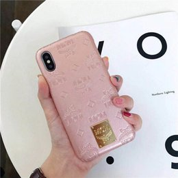 $enCountryForm.capitalKeyWord Australia - Plating Metal Printed Letter Vegan Leather Back Cover Eagle Holster Phone Shell Animal Print for iPhone XS Max XR 8 Plus Samsung S10
