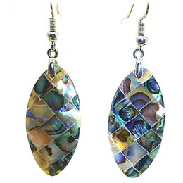 82f723fb8 Foreign Trade Best Selling Horse Eye Type Moon Type Sharp Heart Type Metal  Natural Abalone Shell Earrings Earrings Wholesale