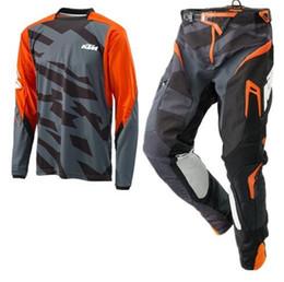 Dark Blue Suits Australia - SE Air Metric Design ktm Motocross Racing Sets Off-Road Motorcycle Gear Combos XC DH MTB Go Pro Moto Racing Suit GG