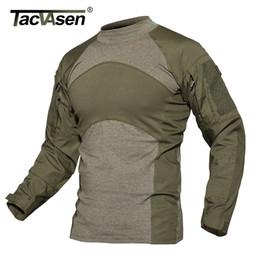 $enCountryForm.capitalKeyWord Australia - Tacvasen Men Summer Tactical T-shirt Army Navy Combat Airsoft Tops Long Sleeve Military Tshirt Paintball Hunt Camouflage Clothes T2190617