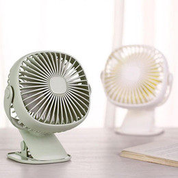 $enCountryForm.capitalKeyWord Australia - Mini USB Clip Fan Desk Use Home Student Dormitory Bedside Portable Rechargeable Air Cooling Desktop Office Silent 3 Speed Fan