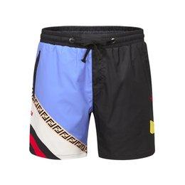 mens spandex swim shorts 2019 - 2019 New Fashion Mens Shorts Casual Solid Color Board Shorts Men Summer style Beach Swimming Shorts Men Sports Short Lei