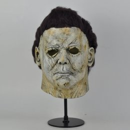 $enCountryForm.capitalKeyWord Australia - Top Grade!!! Cool Michael Myers Mask Halloween 2018 Horror Movie Cosplay Adult Latex Full Face Helmet Halloween Party Scary Props