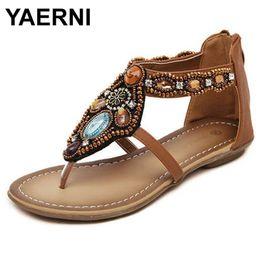 $enCountryForm.capitalKeyWord Australia - Yaerni Free Shipping 2018 Bohemian Sandals Flat With Sandals Female Flat Student Sandals Female Summer Women Shoes Y19070503