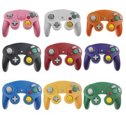 $enCountryForm.capitalKeyWord Australia - Hot sale Wired Game Controller Gamepad Joystick for NGC NINTENDO GC Game Cube For Platinum without Box