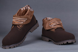 $enCountryForm.capitalKeyWord Australia - ORIGINAL ROLLTOP BOOTS CUSTOM MENS IN BROWN WITH CANVAS FOLD DOWN BOOTS SALE STORE CHEAP WORK HIKING SHOES FOR MEN SHIHPPED FREE