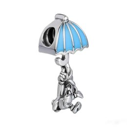 Dangles For European Bracelets 925 Silver Australia - Fine Jewelry Jiminy Cricket Dangle Charm Fits for pandora bracelet sterling silver 925 DIY Beads For Jewelry Making