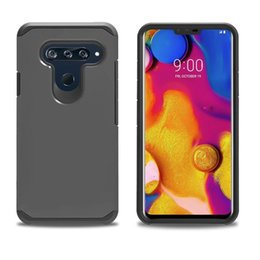 $enCountryForm.capitalKeyWord NZ - Dual Layer Slim Armor Combo Case for LG X Power 2 3 V40 X STYLE VOLT 3 Tribute HD Cover Shockproof Protective Shell