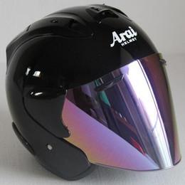 2019 Top hot ARAI R3 casco moto casco mezzo viso aperto casque motocross TAGLIA: S M L XL XXL ,, Capacete in Offerta