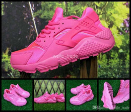 $enCountryForm.capitalKeyWord NZ - New Air Huarache I Woman Running Shoes Cheap Pink Women Sneakers Triple Huaraches 1 Trainers huraches Womans Sports Shoes 36-40