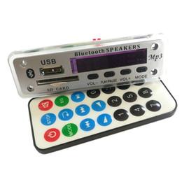 12v audio board online shopping - New Wireless Bluetooth V MP3 WMA Decoder Board Audio Lossless APE Module USB TF FM Radio Support Power off Memory Playback
