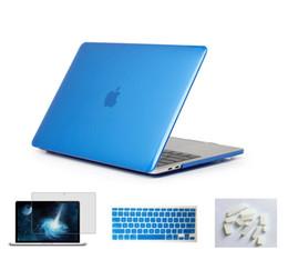 $enCountryForm.capitalKeyWord Australia - 4in1 Matte Rubberized Hard Case Cover Skin Set For Old MacBook Pro 15 Inch CD-ROM (Model: A1286, Version 2012 2011 2010)