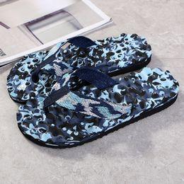 $enCountryForm.capitalKeyWord Australia - Summer Camouflage Flip Flops Shoes Sandals Slipper Indoor Outdoor Leather Womens Mens Slippers Beach Shoes Flip-flops Non Slip