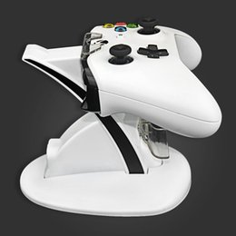 Dual Controller Holder Charger 2 USB Handle Fast Charging Dock Station Stand Charger For XBOX ONE S gamepad from ps4 prices suppliers