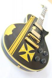 Guitar Custom Shop Black Australia - Custom Shop best-selling High quality black matt top Electric guitar ,Classic ES guitar,free shipping