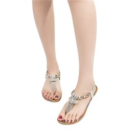 490206e32 YOUYEDIAN Shoes Sandals Solid Bohemia Crystal Thick Bottom Shoes Elastic  Band Sandals Beach summer sandalias mujer  3