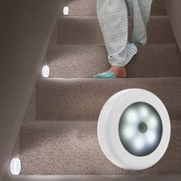 $enCountryForm.capitalKeyWord Australia - Wireless Infrared Human Motion Sensor Led Night Light Wall Lamp For Closet Corridor Cabinet Kitchen Smart Sensor Led Night Lamp