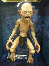Figures Australia - [New]Lord of the Rings toy Gollum action figure Furnishing articles The Hobbit Keepsake hallmark collection doll model