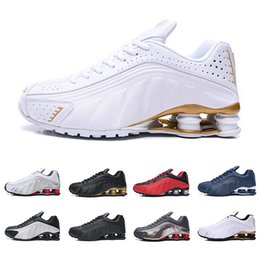 $enCountryForm.capitalKeyWord Australia - 2019 Deliver RZ 301 Shox Men Breathable Running Shoes Fashion Deep Blue White Black Red DELIVER OZ NZ Athletic Sports Sneakers 40-46