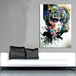 $enCountryForm.capitalKeyWord Australia - 1 Piece Enchanting Figure Painting Paintings On Canvas Modern Wall Pictures For Living Room Home Decor No Frame Oil Painting