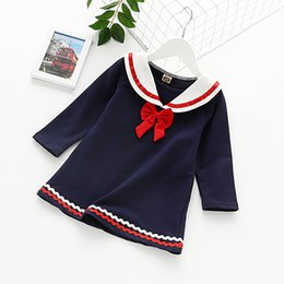 Discount anime school girl uniform cosplay Japanese High School Girls Sailor Dress Uniform Cosplay Costume Dress Long Sleeve Anime Kids Princess Vestidos For Girls