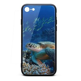 $enCountryForm.capitalKeyWord Australia - Big sea turtle coral reef Hawaii white iphone cases,iphone 6,iphone6s,iphone 6plus,iphone 6splus,iphone7,iphone 8 cases cute phone cases ip