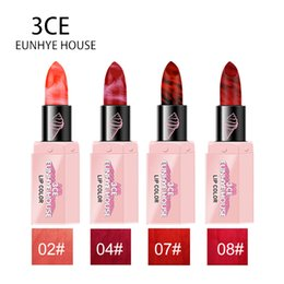3ce Wholesale Lipstick Australia - 3CE EUNHYE HOUSE 4 Color Matte Lipstick Lips Makeup Waterproof Moisturizer Lipstick Long-lasting Smooth Batom Cosmetics