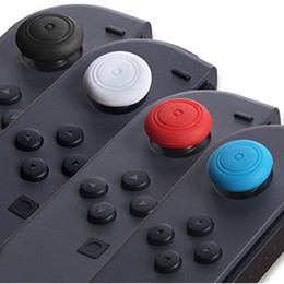 thumb silicone controller NZ - Silicone Thumb Stick Caps Gel Guards for Nintendo Switch NS Joy-Con Switch Lite Controller Joystick Grips Game Accessories