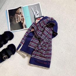 Ladies thick winter poncho online shopping - Winter scarf Imitation Cashmere pashmina women scarfs warm thick Dual shawl hijab poncho for ladies