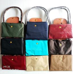Blue handBag horses online shopping - Classic Horse Designer Waterproof Brand Women Nylon Handbags Long handle Womens Shoulder Bags Casual Totes shopping bag
