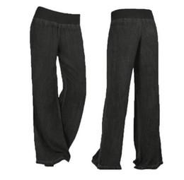 $enCountryForm.capitalKeyWord UK - Free shipping 01 new women's wide leg elastic waist denim trousers loose board fashion casual pants