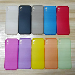 Transparent Colors Case NZ - Fashion 10 Colors Phone Case for iPhoneX XS XR XS Max Transparent Silicone PP Protective Cell Phone Cases