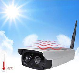 High Definition Cmos Camera Australia - Solar Powered Camera Infrared Surveillance Wireless WIFI Waterproof High Definition Night Vision
