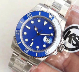 $enCountryForm.capitalKeyWord NZ - KS luxury watch can be equipped with 2836, 3135 automatic mechanical movement blue face men's mechanical watch night light waterproof