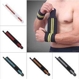 $enCountryForm.capitalKeyWord Australia - Workout Gloves Weight Lifting Long Strap Gym Bodybuilding Wrist Support Wraps BHD2