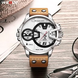 $enCountryForm.capitalKeyWord Australia - Gift Weide Man Luxury Sports Military Pu Leather Strap Band Quartz Movement Analog Clock Hours Wrist Watches Relogio Masculino Y19052103