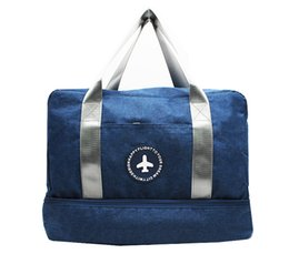$enCountryForm.capitalKeyWord Australia - Casual Solid Color Travel Bags Two Layers Clothes Shoes Classification Tidy Pouch Luggage Packaging Cube Organizer Accessories