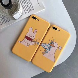 Wholesale Cartoon Case For iPhone S Plus Matte Frosted TPU Cartoon Case for iPhone XS MAX XR X S Back Cover