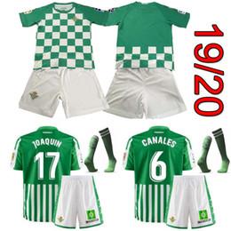 29e8b948d 19 20 Real Betis Kids Kits Soccer Jersey 2019 Real JOAQUÍN SERGIO LEÓN  BARTRA INUI BOUDEBOUZ MANDI TELLO LO CELSO JOAQUÍN camiseta de futbol