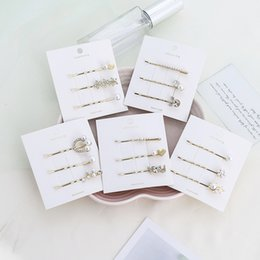 $enCountryForm.capitalKeyWord Australia - 3Pcs Set Hairpins Hair Clips Pearl Bobby Pins Side Bangs Clips Barrettes Headwear For Lady Girls Hairgrip Hair Fashion headdress Jewelry New