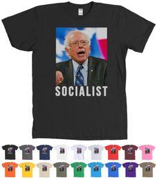 $enCountryForm.capitalKeyWord Australia - Anti Socialist Bernie Sanders T-Shirt Crazy Hair Picture Tee - MANY COLORS Size Classic Quality High t-shirt Style Round Style tshirt