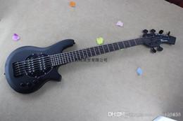 Best Bass guitars online shopping - HOT black bango bass Best Custom string MUSIC man bass BASS guitar active pickups V battery DFSE