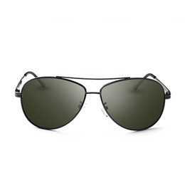 Nickel Alloys Australia - New Nickel Alloy Gun Color Sunglasses Men Polarized Lens Pilot Sun Glasses gafas de sol mujer Glasses UVA Sunglasses Women 8025Y
