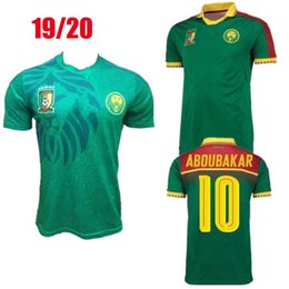 c751755c5 Size S-XXL 2019 Cameroon Africa Cup Football Wear 19 20 Thailand Quality  National Team Vincent Aboubakar Benjamin Men s Home Jersey